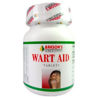 BAKSON'S Wart Aid 75 Pills warts, corns and epithelial Tumours FREE SHIPPING