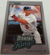 2002 Donruss Albert Pujols #DK-17 Diamond Kings Insert Card SP /2500 Cardinals