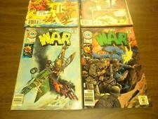 WAR #3,6, WORLD AT WAR #20,21 Charlton Comics 1975-1980 lot