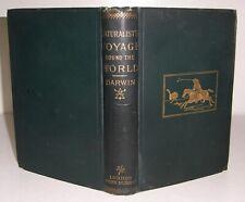 1897 CHARLES DARWIN Naturalist's Voyage Round the World in H.M.S BEAGLE Geology