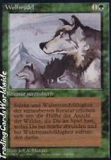 Aspect of Wolf // ex // Foreign black bordered // Deut. // Magic the Gathering