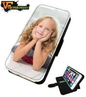 Personalised Custom Printed Photo Picture Flip Wallet Phone Case Cover iPhone