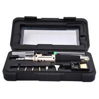 1X(HS-1115K Kit de soudage Professionnel / Kit de fer a souder au gaz butane GH