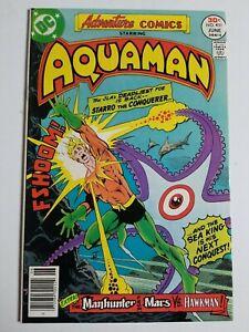 Adventure Comics (1938) #451 - Very Fine/Near Mint - Aquaman, Martian Manhunter