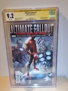 Ultimate Fallout #4 1st Printing CGC 9.2 NM- SS Signed  Sara Pichelli