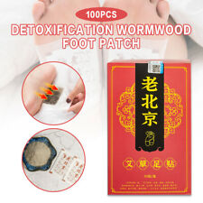 100X Fußpflaster Vitality Fußpolster Artemisia Entgiftung Toxine Health Foot Pad