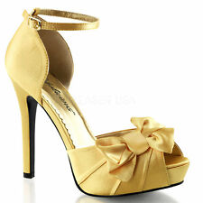 97f3cc37e26c43 Satin Bridal or Wedding Shoes for Women