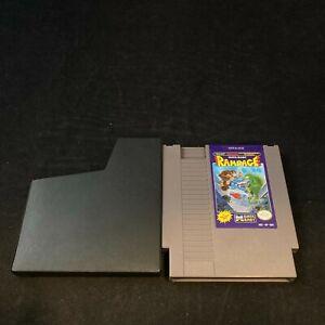 Rampage, Game w/ Protective Sleeve, Nintendo NES