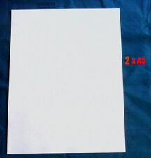 Decal Clear Waterslide Inkjet Paper 2 x A5 Sheets (85p per Sheet) Fast Delivery