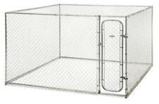 Outdoor Dog Playpen 10'w x 10'd x 6'h DIY FenceMaster Dog Kennel HBK19-11925