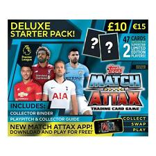 EPL Match Attax 2018/19 Deluxe Starter Pack Worlds Successful Football Card Game