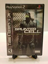 Tom Clancy's Splinter Cell - Playstation 2 PS2 Game Complete TESTED Z21