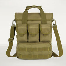 Men Durable Nlyon Messenger Shoulder Cross body Table PC Tactical Tote Hand Bag