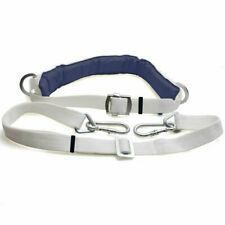 Outdoor Climbing Harness Belt Safety w/ Lanyard Protective Gear Fall Protection