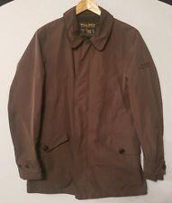 Woolrich Woolen Mills John Rich & Bros Polyester Coat in Brown Outdoors