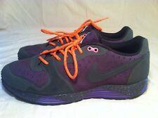 2010 Nike Air Vengeance Terra Men's Size 11 (429860-002) Purple&Grey/Orange Lace