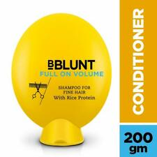 BBLUNT Full On Volume Conditioner for Fine Hair 200g Rice protein, provitamin B5