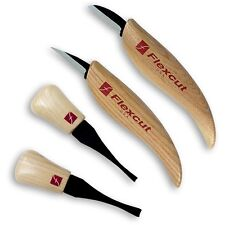 Flexcut Beginner Palm and Carving Set 952590 KN600 + Slipstrop