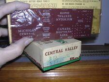 CENTRAL VALLEY #B-93  M.C. Old Time 36' Truss-Rod Box Car #19275 Kit H.O.Gauge
