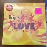 "THE BEATLES ""LOVE"" SOUNDTRACK CIRQUE DU SOLEIL  2 VINYL LP'S UK AUDIOPHILE"