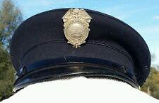 Vintage Hartland Fire Department Dress Hat With Badge Hartland Wi.?