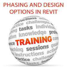Phasing and Design Options in REVIT - Video Training Tutorial DVD