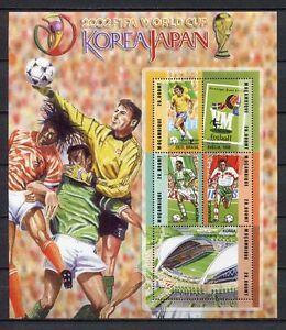 s7455) MOZAMBIQUE 2002 MNH** World Cup Football - Coppa Mondo Calcio S/S