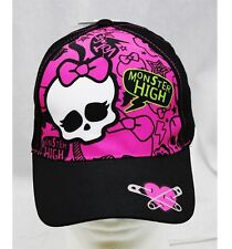 NWT Monter High Baseball Cap Black Pink-  Child Size Licensed by Mattel