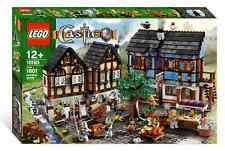 LEGO 10193 Castle Medieval Market Village New Free US Shipping Set Retired