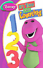 Barney - It's Time For Counting (DVD, 2008)