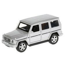 Mercedes-Benz G-Class G-Wagen Gelandewagen Silver Diecast Metal Model Car Toy