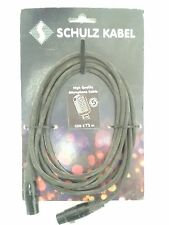 Schulz High Quality Microphone Cable 3m Original / Brand New