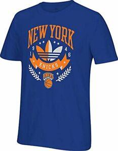 Adidas NBA Men's New York Knicks Distinction In Sports T-Shirt