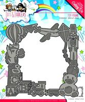 YVONNE CREATIONS - TOTS AND TODDLERS - TOY FRAME DIE CUTTING SET KIDS BABY
