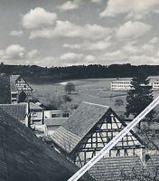 Gschwend im Schwäbischen Wald - Großformat  - um 1955                H 6-15