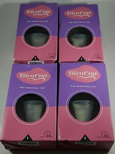 NEW! *Divacup*~4 Menstrual Cup Model 1 Wear Up To 12 hrs. Factory Sealed!