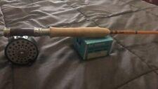 "Lamiglas 7'6"" 4wt Fiberglass Fly Rod ""Honey Stick"" New Build"
