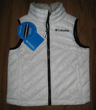 NEW Columbia Girl's Powder Lite Vest Sz XXS (4/5) - NEW WITH TAG MSRP $75