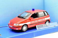 MODELLINO AUTO FIAT PUNTO VIGILI FUOCO SCALA 1/43 DIECAST CAR MODEL MINIATURE