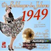 DIE SCHLAGER DES JAHRES 1949 2 CD NEU
