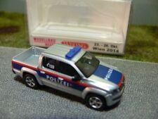 1/87 Wiking VW Amarok Polizei Wien 0311 56 Sondermodell 2014