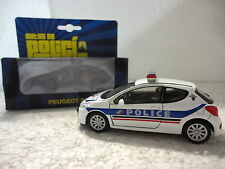 Autos de Policia,Peugeot 207,Francia,Escala 1:36:38,Ed.Welly