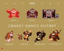 Limited Edition Club Nintendo Donkey Kong's History Poster