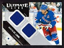 MARTIN ST.LOUIS 2014-15 UDC ULTIMATE GEAR DUAL GAME USED JERSEYS