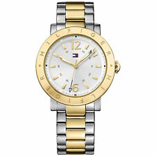 Tommy Hilfiger Watch   Two Tone Gold & Silver Unisex   1781620   RRP £249