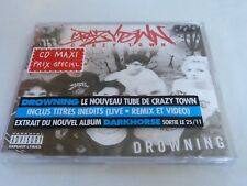 CRAZY TOWN - DROWNING !!!!!!!!RARE CD!!!!!!