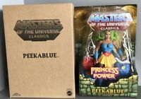 Peekablue She-Ra Princess Of Power Masters Universe MOTU Classics MOTUC Peacock