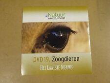 DVD HET LAATSTE NIEUWS / NATUUR IN WOORD EN BEELD - DVD 19 - ZOOGDIEREN