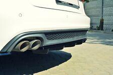Diffusor ansatz für Audi A6 4G C7 Heckansatz Heckschürze hinten Heck DTM FLap