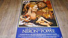 LES AVENTURES SEXUELLES DE NERON ET POPPEE !   affiche cinema